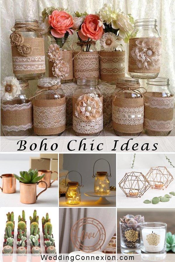 Boho Chic Wedding Decor Ideas  | WeddingConnexion.com