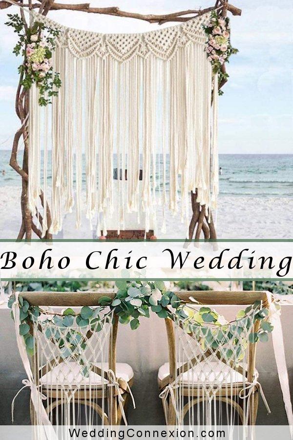 Boho Chic Wedding Decor  | WeddingConnexion.com