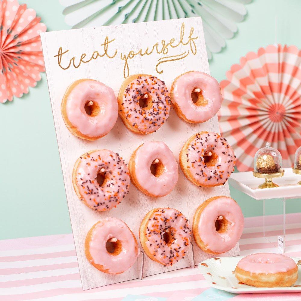 Donut Wall Bridal Shower Idea
