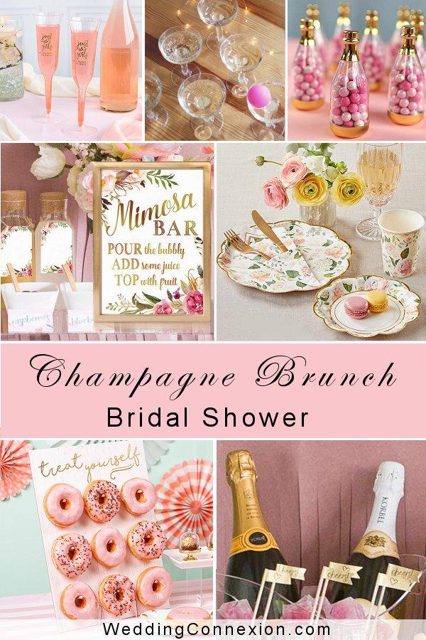 Champagne Brunch Bridal Shower | WeddingConnexion.com