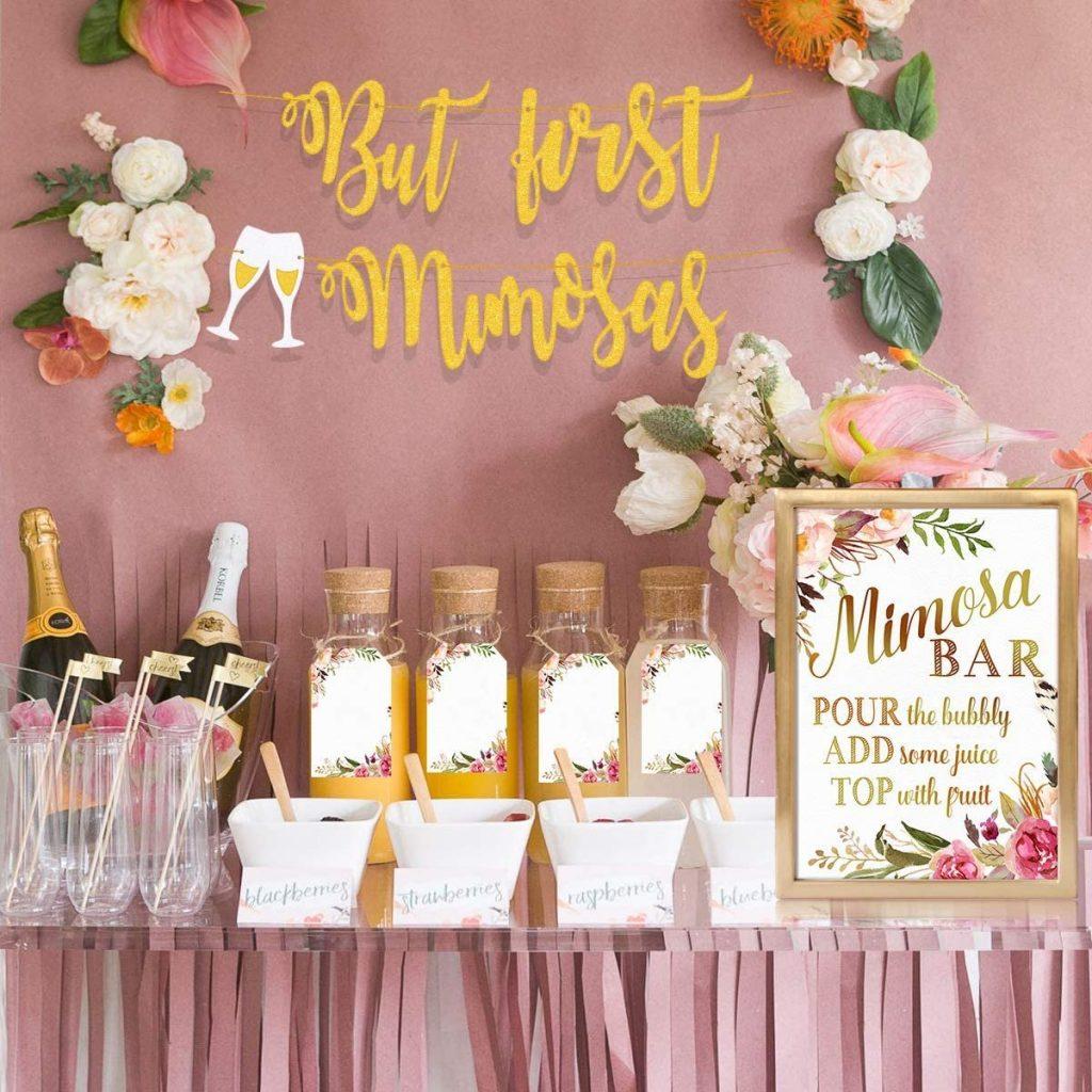 Mimosa Champagne Bridal Brunch Bar Kit