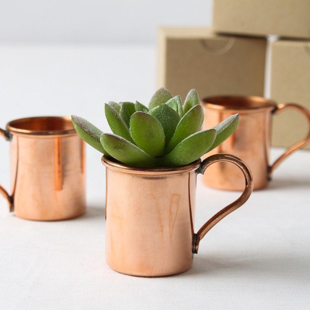 Boho Chic Desert Copper Mule Mug Wedding Favors
