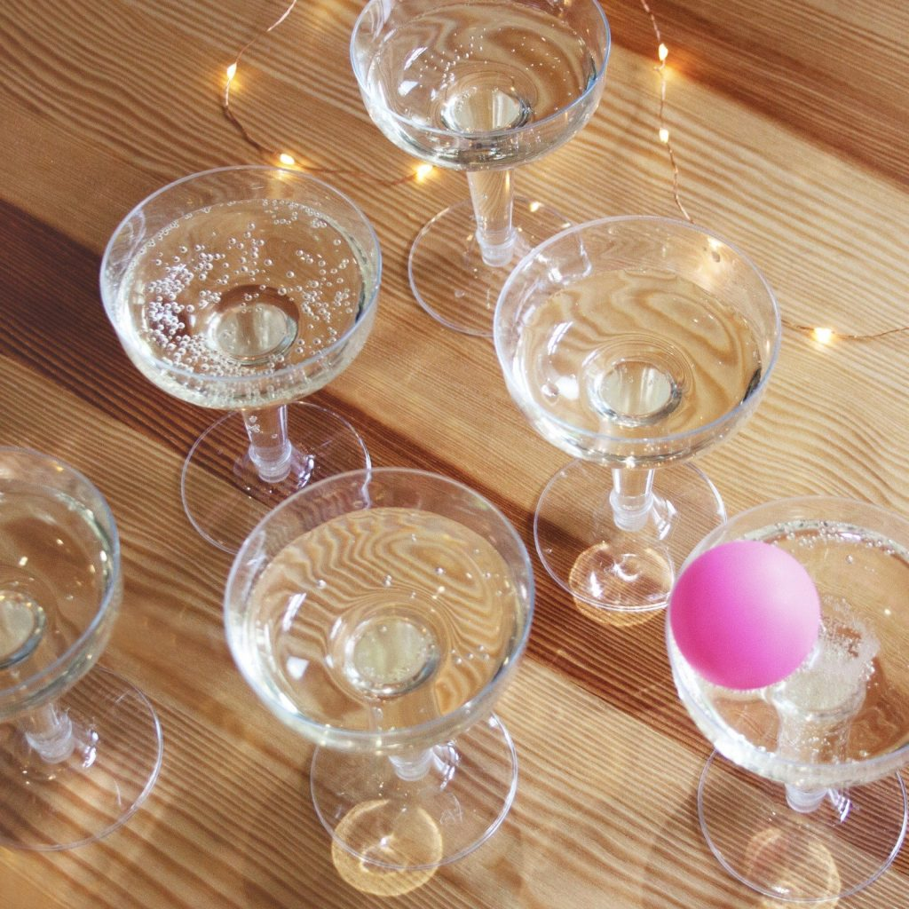 Prosecco Pong Bridal Shower Game