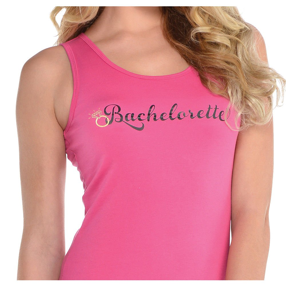 Pink Bachelorette Tank Top