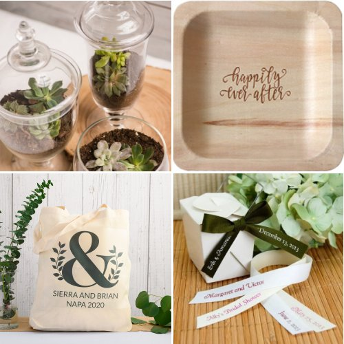 Green and Earthy Wedding Ideas