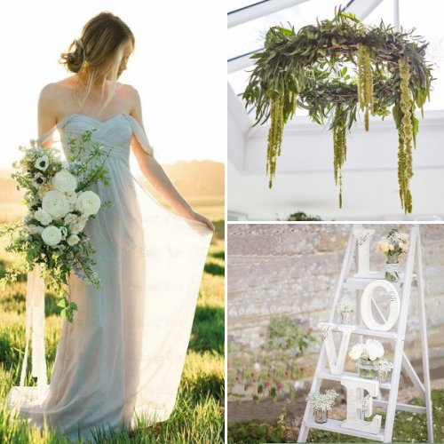 Romantic Greenery Wedding