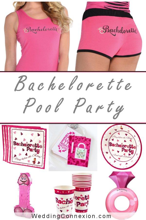 Bachelorette Pool Bash | WeddingConnexion.com
