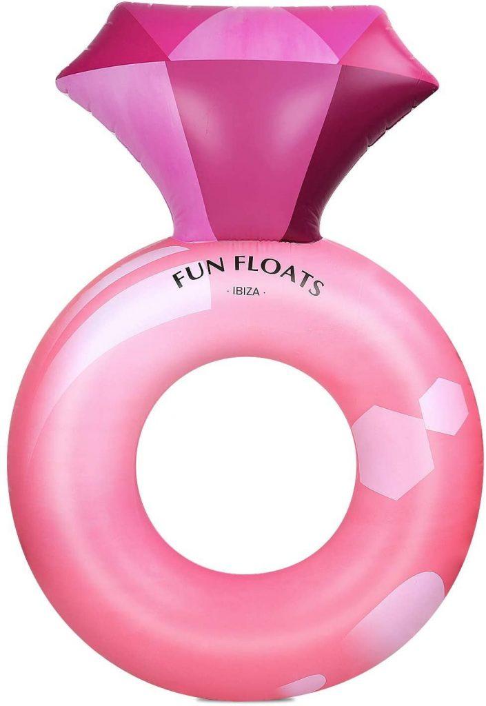 Pink Diamond Pool Float