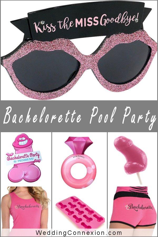 Poolside Bachelorette Party | WeddingConnexion.com