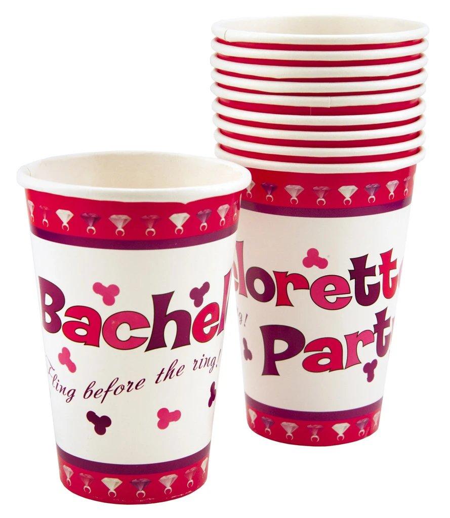 Bachelorette Party Penis Paper Cups