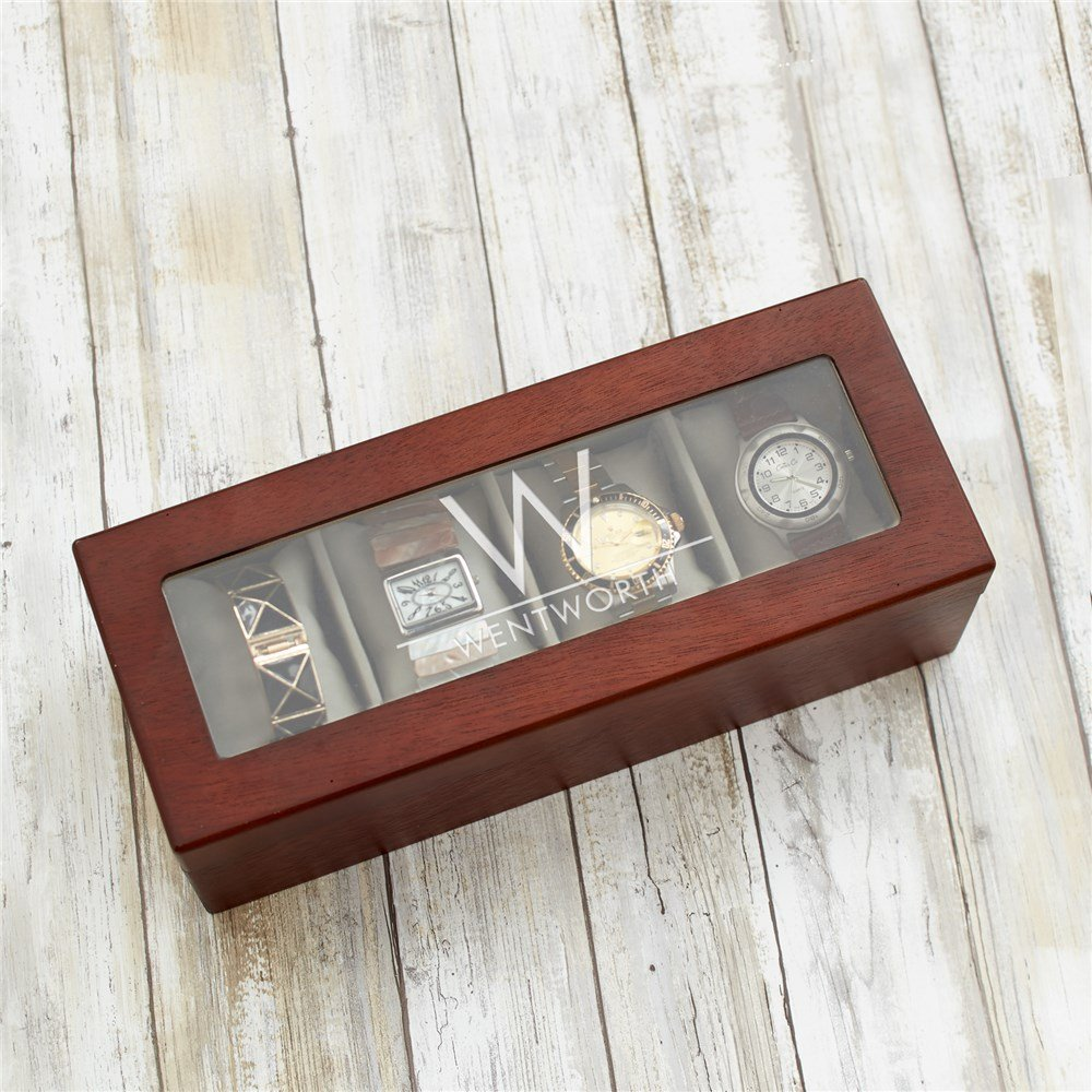 Engraved Watch Box Groomsmen Gift Idea