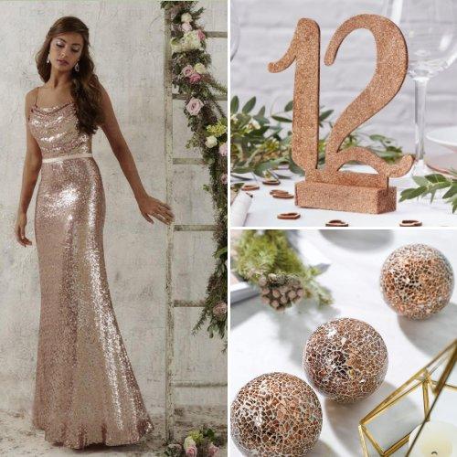Rose Gold Wedding Theme Ideas
