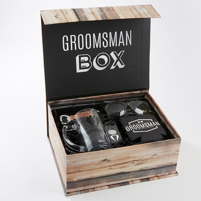 Groomsmen Gift Box Kit