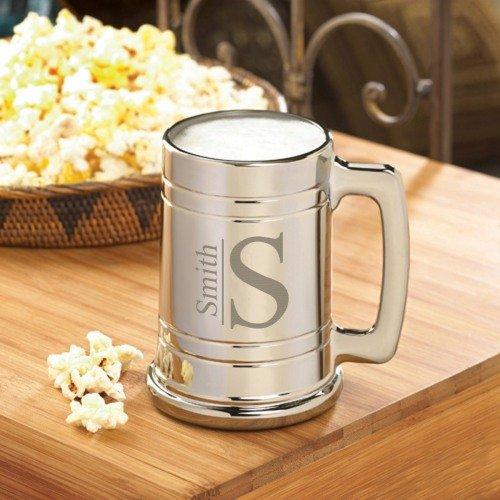 Personalized Gunmetal Beer Mug Groomsmen Gift Ideas