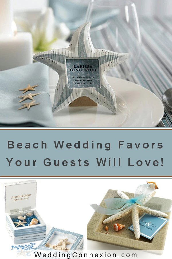 Beach Destination Wedding Favor Ideas | WeddingConnexion.com