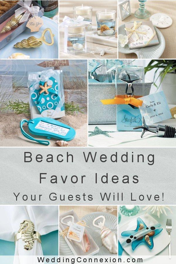 Beach Wedding Favor Ideas | WeddingConnexion.com