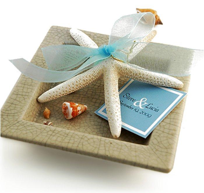 Beach Finger Starfish Favor Idea