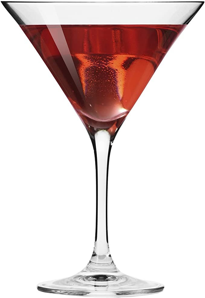 Martini Glasses Wedding Shower Gift Idea