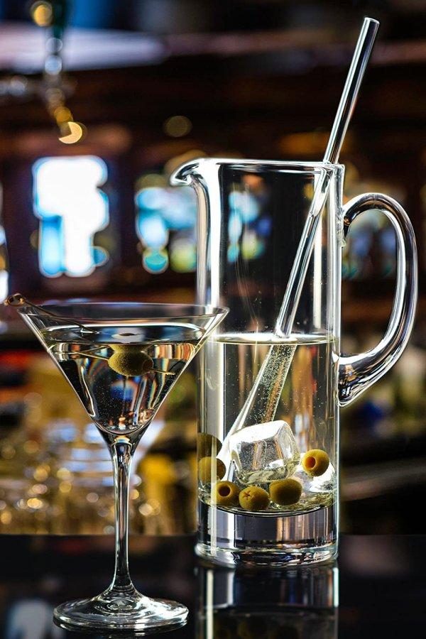 Glass Martini Pitcher Wedding Shower Gift Idea