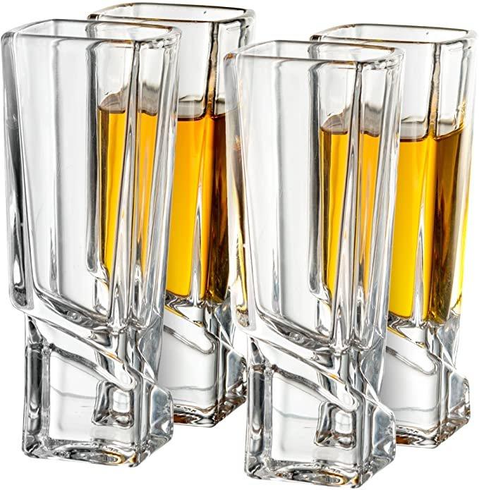 Square Shot Glasses Wedding Shower Gift Idea