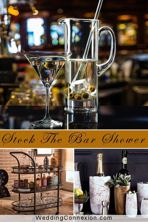 Stock The Bar Wedding Shower Ideas | WeddingConnexion.com