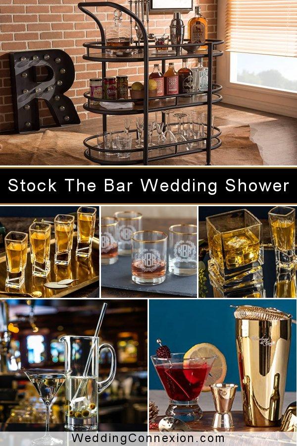 Stock The Bar Couple Wedding Shower Ideas | WeddingConnexion.com
