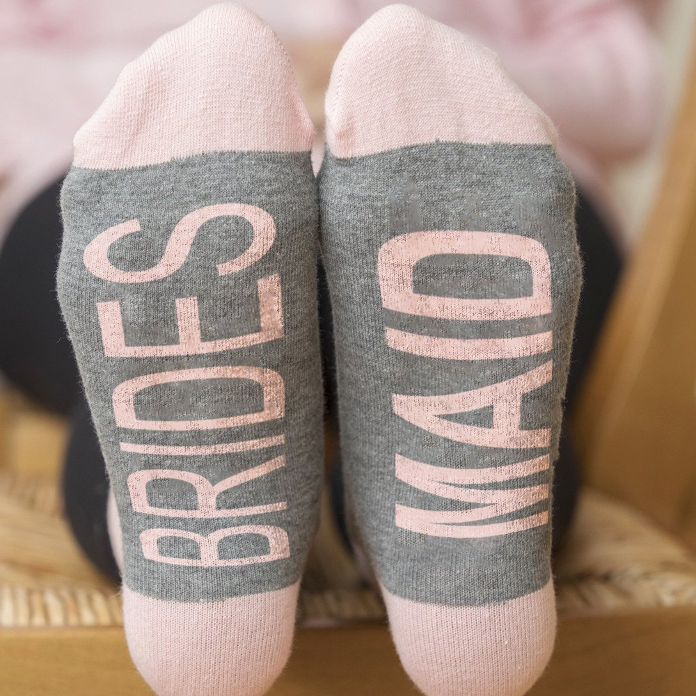 Sleepover Party Bridal Shower Party Socks