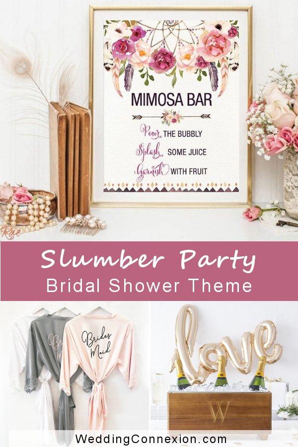 Slumber Party Bridal Shower Theme | WeddingConnexion.com