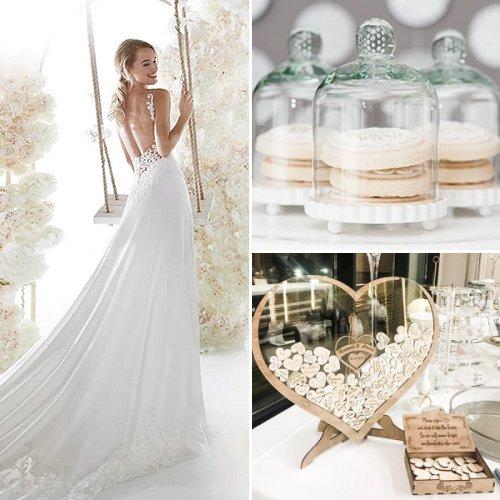 Elegant White & Gold Wedding Ideas