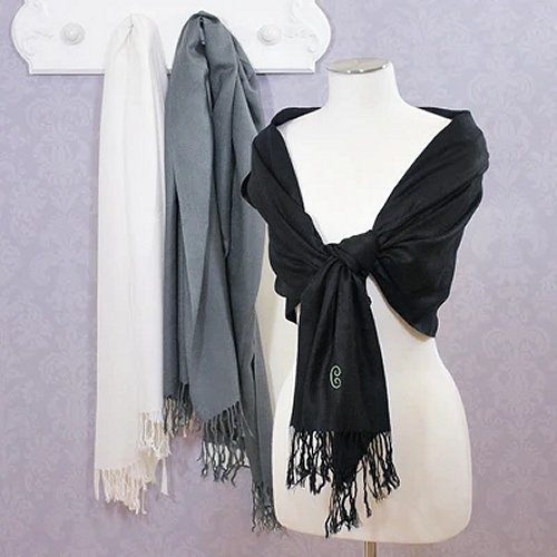 Embroidered Pashminas Bridal Shower Gift Ideas