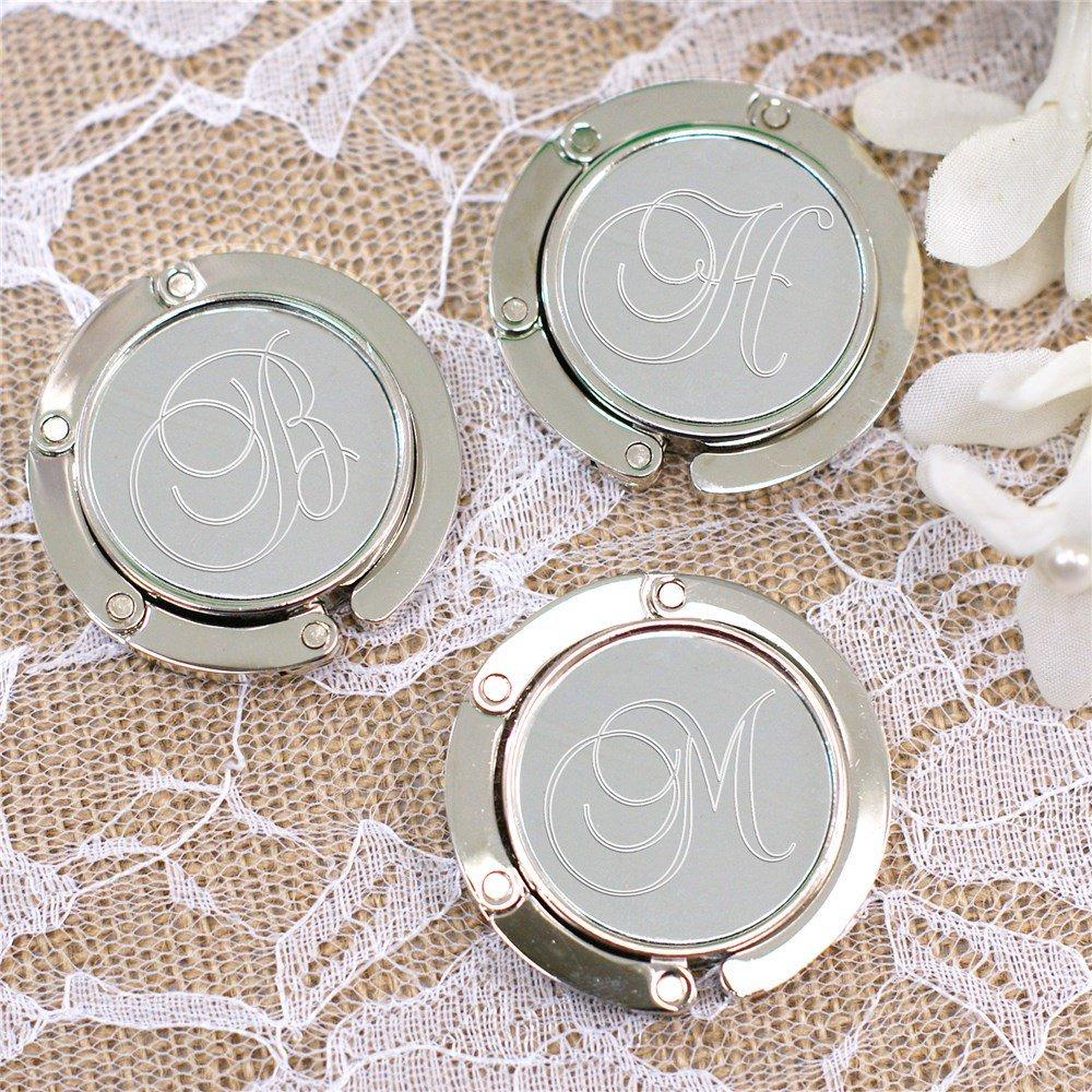 Engraved Purse Hook Practical Bridal Shower Gift Idea