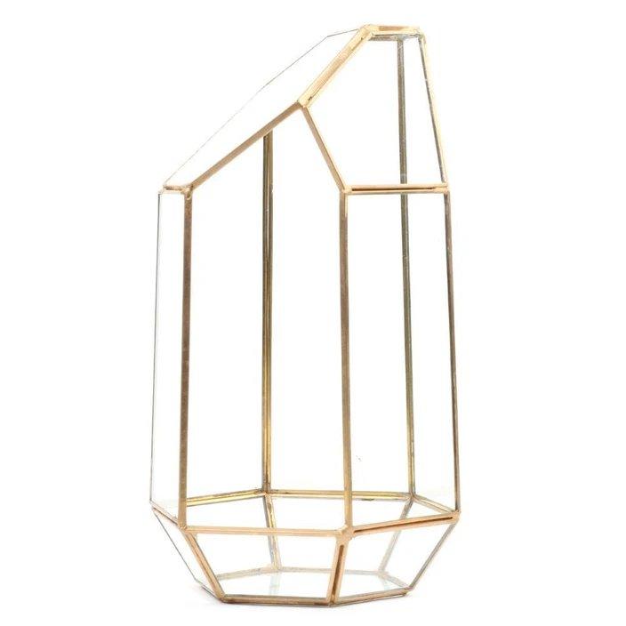 Modern Wedding Geometric Terrarium Holder Centerpiece Decor