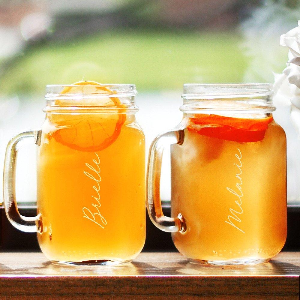 Bridal Jar Mugs Backyard Wedding Gift Ideas