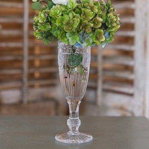 Vintage Glassware Intimate Backyard Wedding Decorations