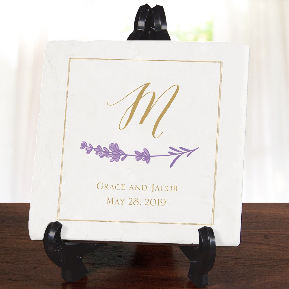 Personalized Wedding Ceramic Plate Sweetheart Table Decor