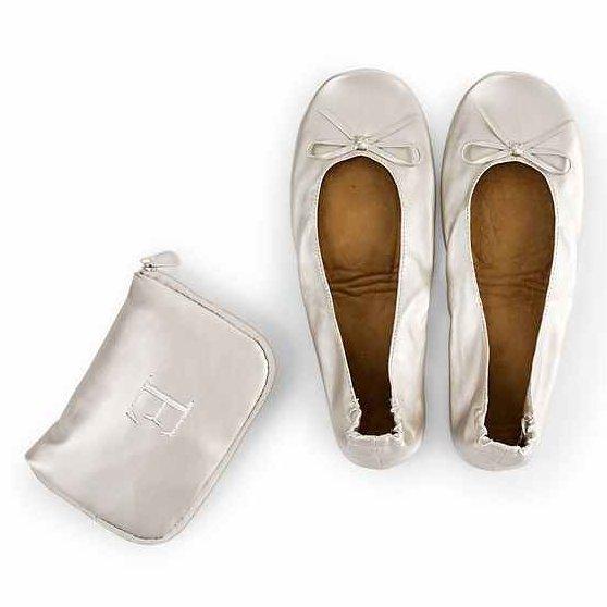 Personalized Pocket Shoes Bridal Shower Elegant Bridesmaid Gift
