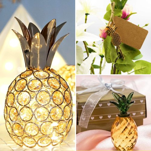 Pineapple Tropical Wedding Theme