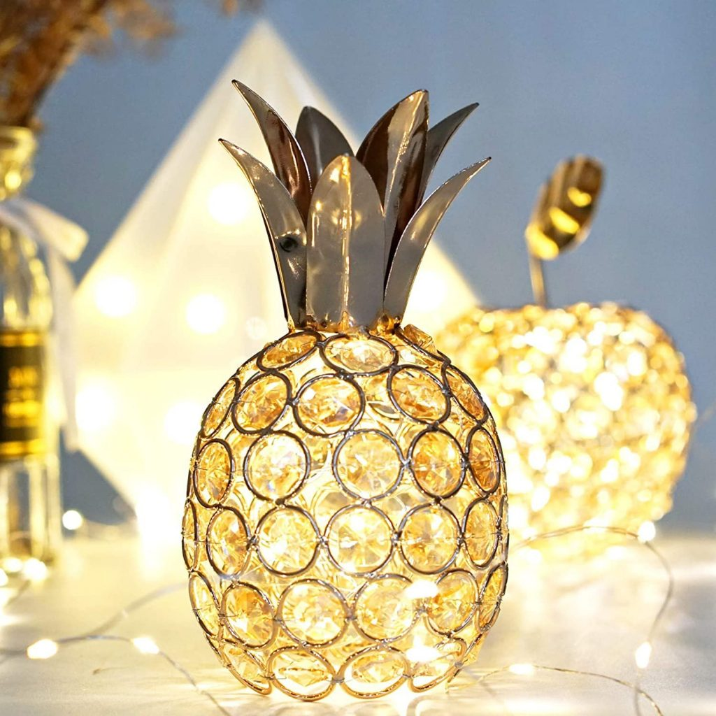 Pineapple Tropical Wedding Table Centerpiece