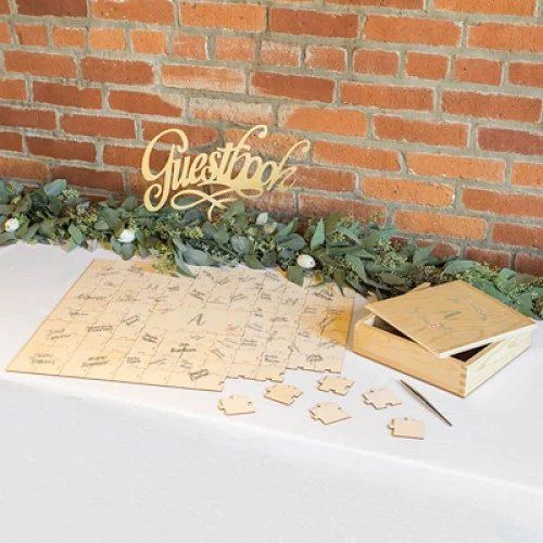 Personalized Guest Book Puzzle