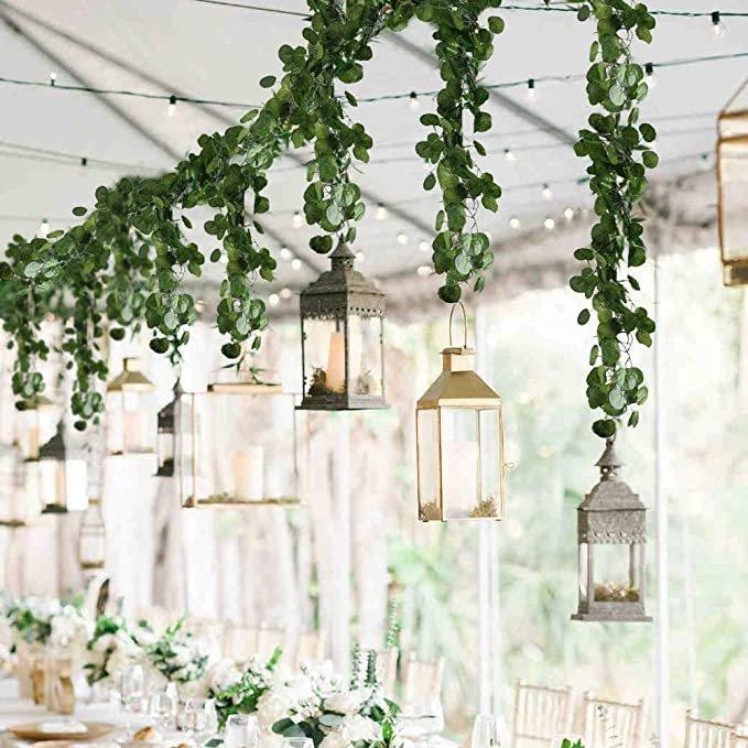 Artificial Hanging Vines Cottagecore Wedding Decor