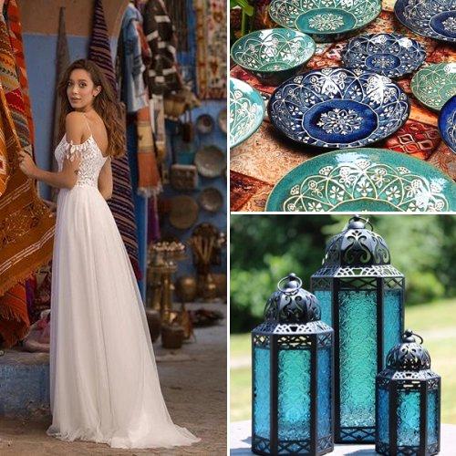 Moroccan-Inspired Wedding Theme
