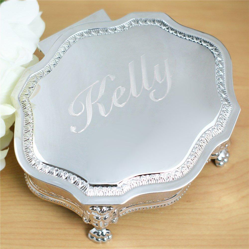 Engraved Princess Jewelry Box Flower Girl Gift Idea