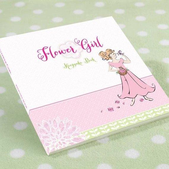 Flower Girl Keepsake Book Gift Idea