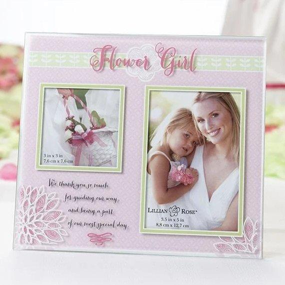 Flower Girl Keepsake Frame Gift Idea