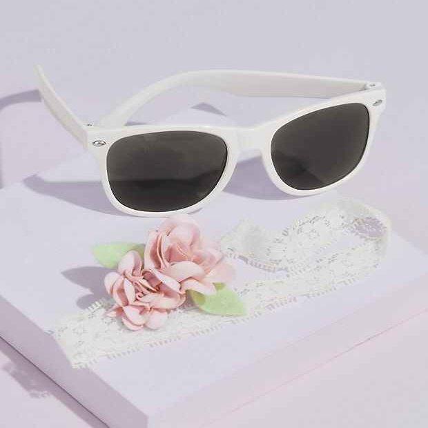 Flower Girl Sunglasses and Headband Set Gift Idea