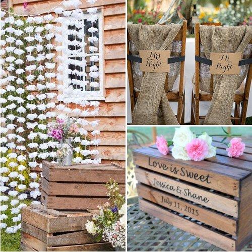 Rustic Farmhouse Wedding Decor