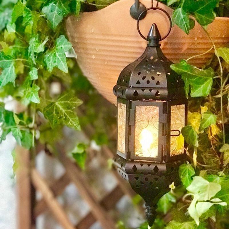 Classic Metal Lantern Wedding Decor