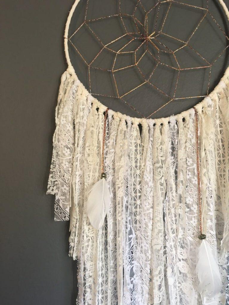Ivory Love Dreamcatcher Bohemian Wedding Decor