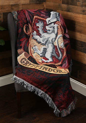 Gryffindor Crest Tapestry Throw Wedding Decor Idea