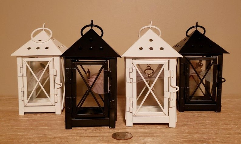 Flying Key Lantern Wedding Centerpieces